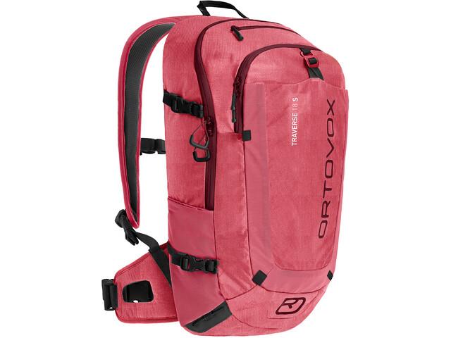 Ortovox Traverse 18 S Alpine Backpack Hot Coral Blend